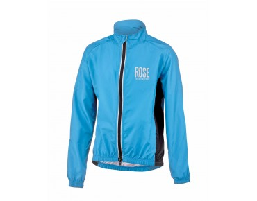 ROSE PRO FIBRE II Kinder-Windjacke sky/black