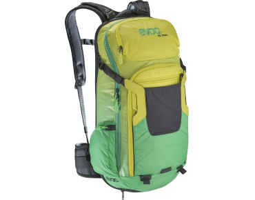 evoc FREERIDE TRAIL 20L backpack sulphur-green
