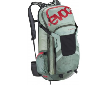 evoc FREERIDE TRAIL 20L rugzak light petrol/olive