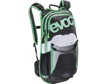 evoc STAGE 12L backpack TEAM black/white/green