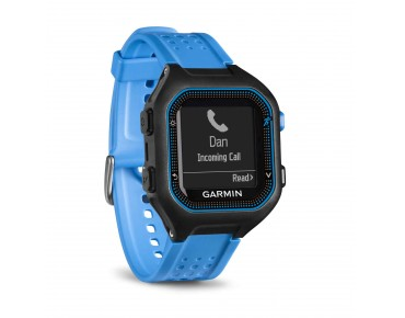 Garmin Forerunner 25 GPS watch bundle with heart rate chest strap black/blue