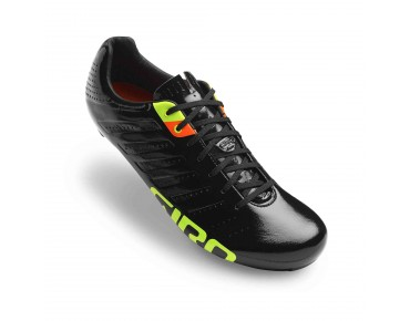 GIRO EMPIRE SLX road shoes black/lime