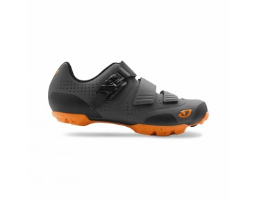 GIRO PRIVATEER R MTB shoes dark shadow/flame