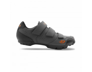 GIRO CARBIDE R MTB shoes dark shadow/flame