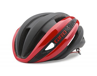 GIRO SYNTHE Rennradhelm bright red/matte black