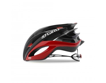 GIRO ATMOS II road helmet bright red/black