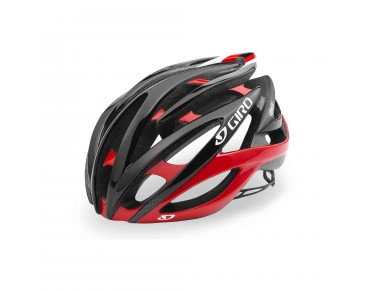 GIRO ATMOS II Rennradhelm bright red/black