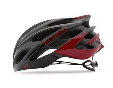 GIRO SAVANT road helmet with MIPS bright red/black
