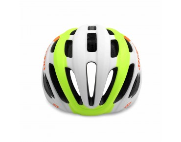 GIRO FORAY road helmet matte white/lime/flame