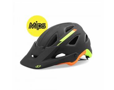 GIRO MONTARO helmet with MIPS matte black/lime/flame