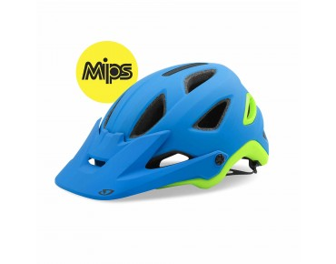 GIRO MONTARO helmet with MIPS matte blue/lime