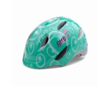 GIRO SCAMP Kinderhelm turquoise bubbles