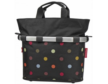 BIKEBASKET OVAL S handlebar bag with KLICKfix mount dots