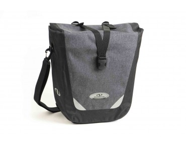 RAMSEY single pannier bag tweed grey