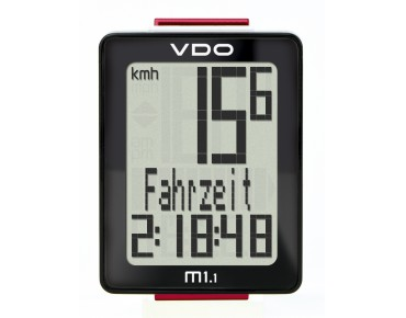 VDO M1.1 WR bike computer -wired 2016-