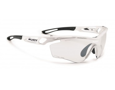 RUDY PROJECT TRALYX - occhiali white gloss/impact X photochromic 2 black