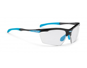RUDY PROJECT AGON - occhiali black gloss/impactX photochromic 2 black