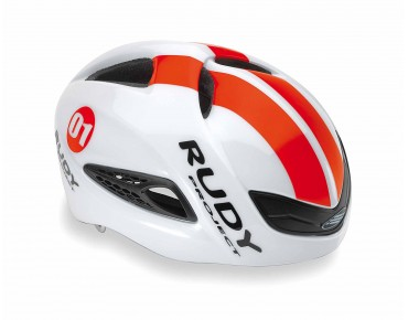 RUDY PROJECT BOOST 01 road helmet white/red fluo