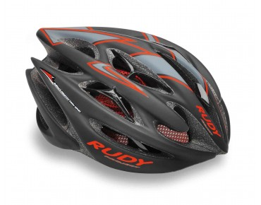RUDY PROJECT STERLING Helm black/red fluo
