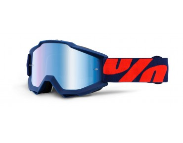 100% ACCURI MIRROR Goggle RALEIGH/mirror blue