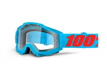 100% ACCURI Goggle acidulous cyan