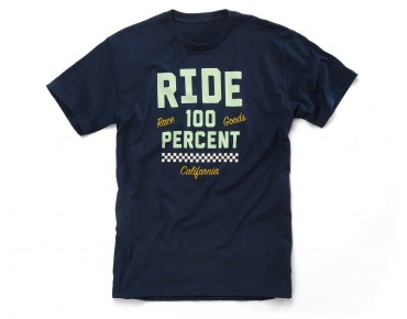 100% TRACKER T-Shirt navy
