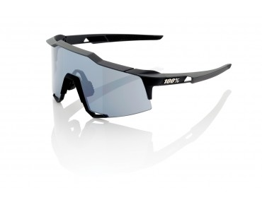 100% SPEEDCRAFT STD glasses flat gunmetal/mirror black