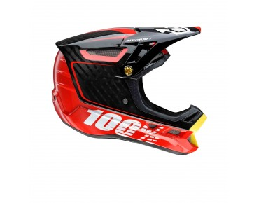 100% AIRCRAFT full-face helmet bi-turbo red