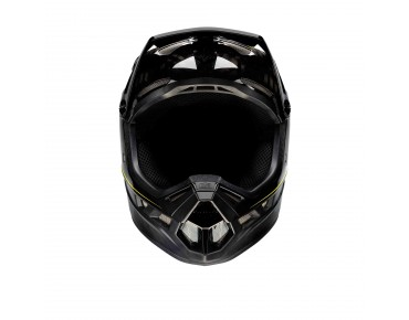 100% AIRCRAFT full-face helmet raw black
