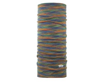 P.A.C. MERINO WOOL MULTI functional scarf rainbow