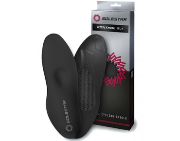 SOLESTAR KONTROL BLK insoles for cycling shoes black
