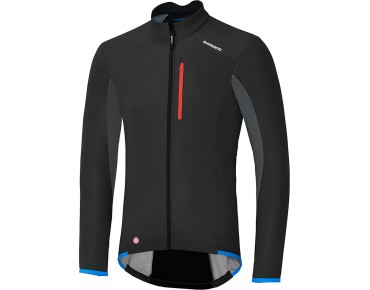 SHIMANO WINDSTOPPER SOFTSHELL Jacke black