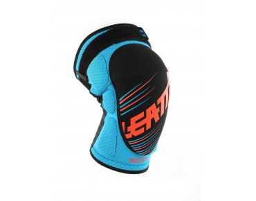 LEATT 3DF 5.0 knee protectors blue/orange