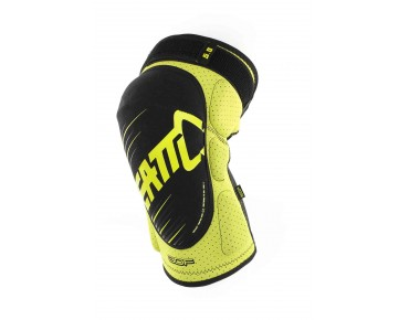 LEATT 3DF 5.0 knee protectors lime/black