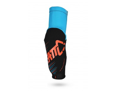 LEATT 3DF 5.0 elbow protectors blue/orange