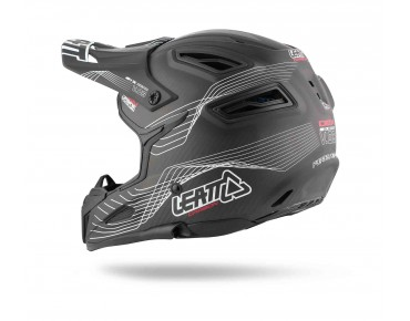 LEATT DBX 6.0 CARBON full-face helmet carbon/white/red