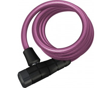 ABUS Primo 5510K spiral cable lock pink