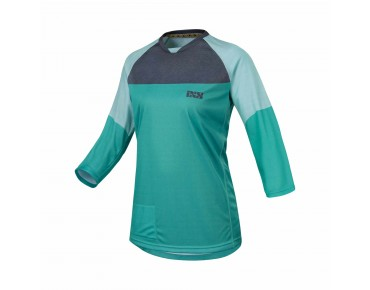 IXS VIBE 6.1 Damen Bikeshirt ¾ Arm methol green