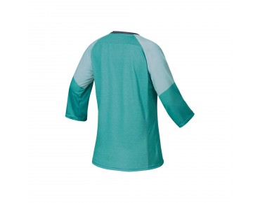IXS VIBE 6.1 women's bike shirt ¾ sleeve methol green
