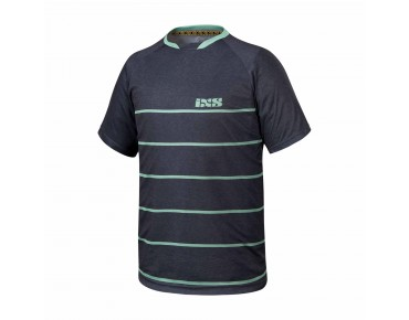 IXS PROGRESSIVE 6.2 bike shirt black/pale green