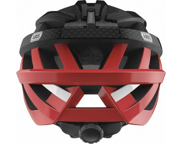 ABUS IN VIZZ ASCENT road helmet red comb