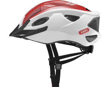 ABUS S-CENSION helmet race red
