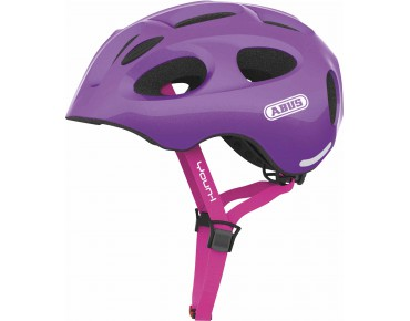 ABUS YOUN-I children's helmet sparkling purple