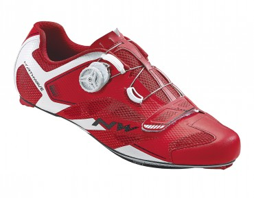NORTHWAVE SONIC 2 CARBON raceschoenen red/white
