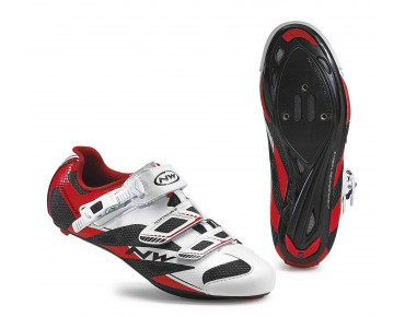 NORTHWAVE SONIC 2 SRS road shoes white/black/red