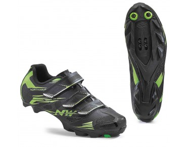 NORTHWAVE SCORPIUS 2 MTB shoes black/green fluo