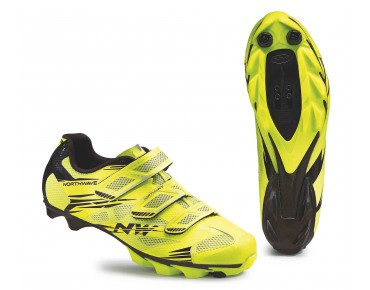 NORTHWAVE SCORPIUS 2 MTB shoes yellow fluo/black