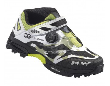 NORTHWAVE ENDURO MID MTB/trekking shoes camo/white/black