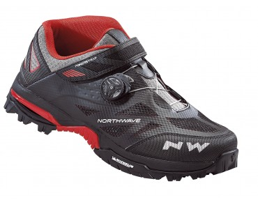 NORTHWAVE ENDURO MID MTB/trekking shoes black/red