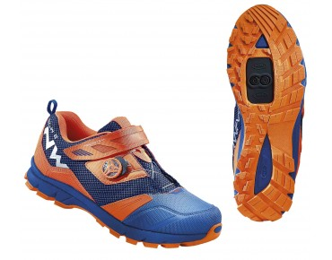 NORTHWAVE MISSION PLUS MTB/trekking shoes blue/orange fluo